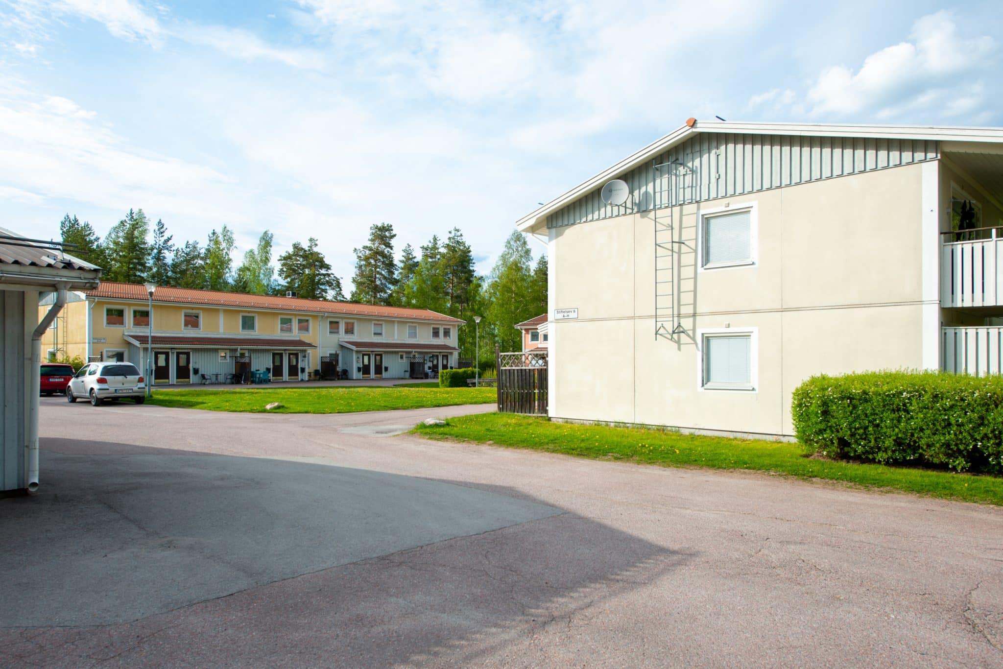 Bostadsområden, Säterbostäder, Gustafs