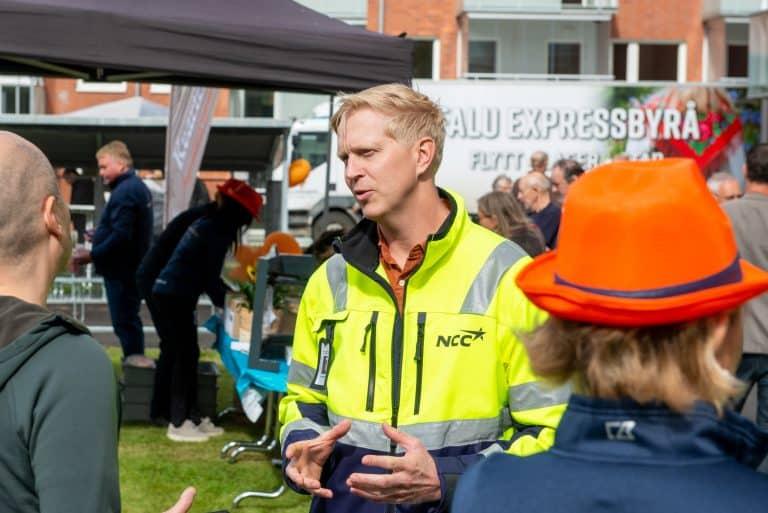 Sven Tägtström, projektchef, NCC